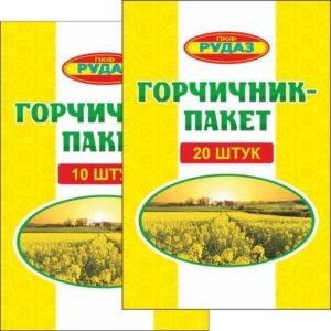 Горчичники серии СТАНДАРТ РУДАЗ