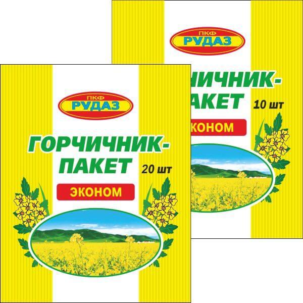 Горчичники серии ЭКОНОМ РУДАЗ